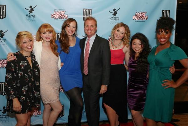 Actresses Kat Borrelli, Natalie MacDonald, Christine Tucker, Executive Producer Tom McCoy and actresses Devon Hadsell, Momoko Sugai, and Joel Rene