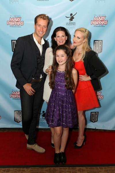 Actors Leigh Wakeford, Shannon Warne, Noa Solorio and Brandi Burkhardt