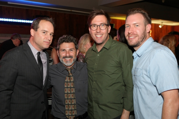 Brian Kite, Producing Artistic Director La Mirada Theatre for the Performing Arts, Nick DeGruccio, Steven Young, and Stephen Gifford