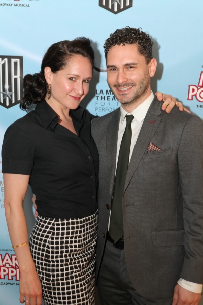 Jean Michelle Sayeg and lighting designer Jared Sayeg