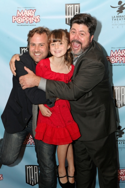 Actors James C. Mulligan, Madeline Green, and Jason Wesley Green