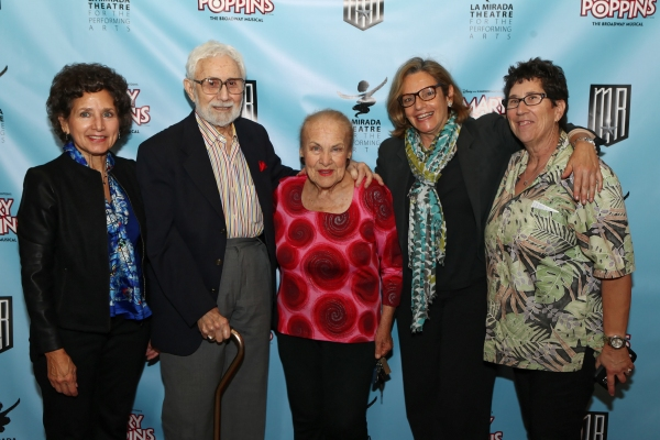 Wendy Herzog, Orrin Howard, actress Helen Geller, Gail Eichenthar, and Myra Howard