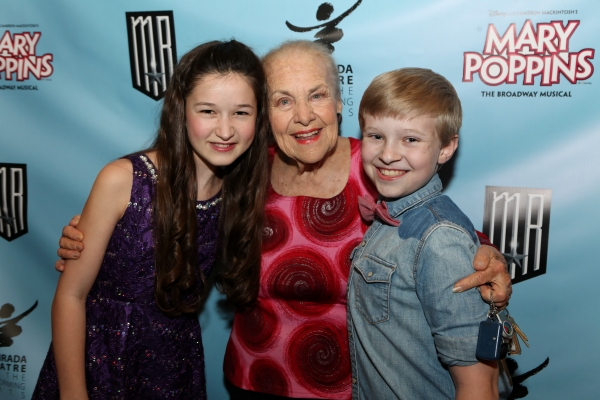 Actress Noa Solorio, actress Helen Geller, and actor Logan Watts