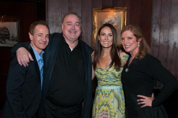 Special guest star Jason Graae, 42nd Street Moon Artistic Director Greg MacKellan, Br Photo