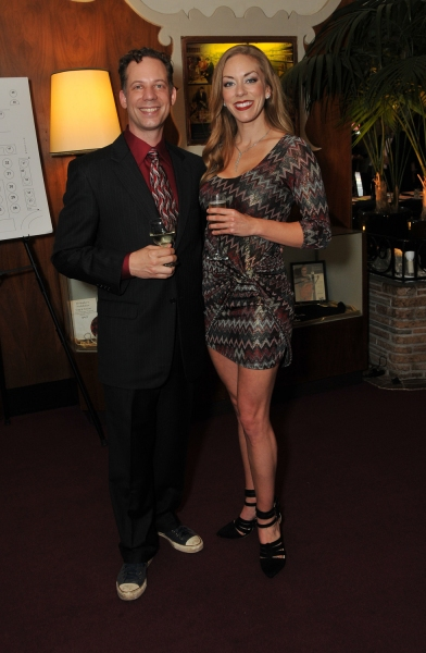 Actors Ryan Drummond and Allison F. Rich (stars of the company''s recent production of NICK & NORA)