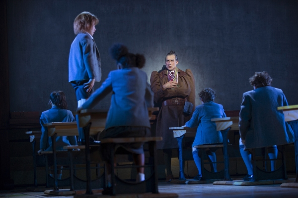 Bryce Ryness and the Company of MATILDA THE MUSICAL First National Tour