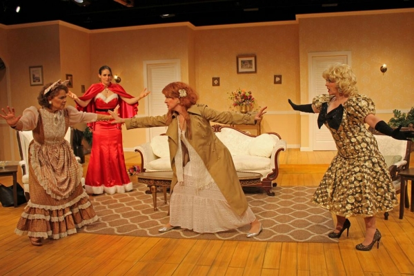 Barbara Bayes as Libby Ruth Ames, Fleece as Deedra Wingate, Wendy Bagger as Charlie Collins and Lisa Wright-Mathews as Monette Gentry