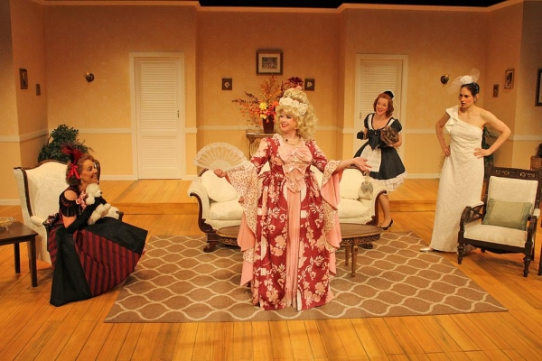 Barbara Bayes as Libby Ruth Ames, Lisa Wright-Mathews as Monette Gentry,  Wendy Bagger as Charlie Collins  and Fleece as Deedra Wingate