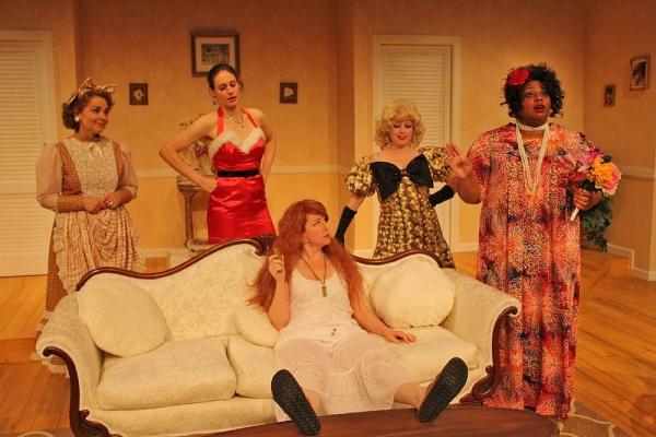 Barbara Bayes as Libby Ruth Ames, Fleece as Deedra Wingate, Wendy Bagger as Charlie Collins, Lisa Wright-Mathews as Monette Gentry and Debra Thaïs Evans as Sedalia Ellicott