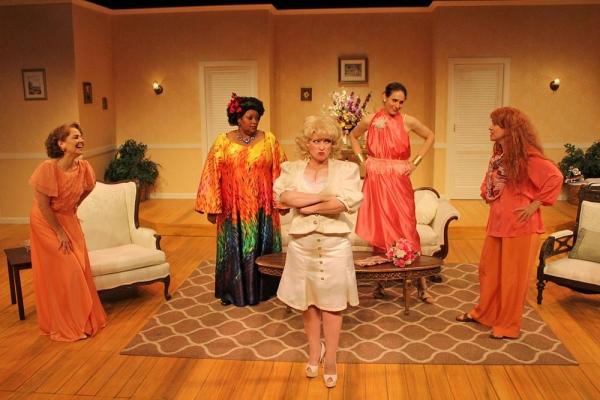 Barbara Bayes as Libby Ruth Ames, Debra Thaïs Evans as Sedalia Ellicott, Lisa Wrig Photo