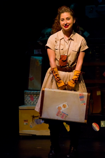 Photo Flash: First Look at TRAVELING PAPERS at Theatre Row