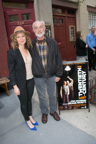Jessica Dickey and David Van Asselt, Artistic Director of Rattlestick