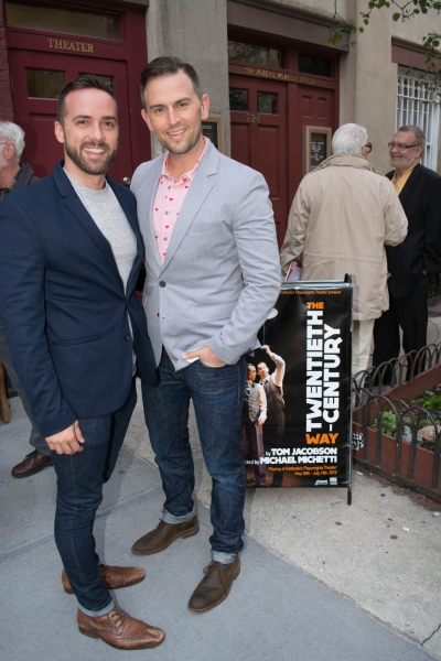 Photo Flash: Inside Opening Night of THE TWENTIETH-CENTURY WAY Off-Broadway