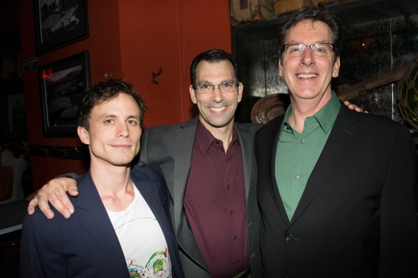 Will Bradley, Robert Mammana and director Michael Michetti Photo