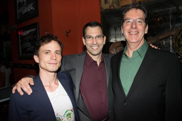 Will Bradley, Robert Mammana and director Michael Michetti