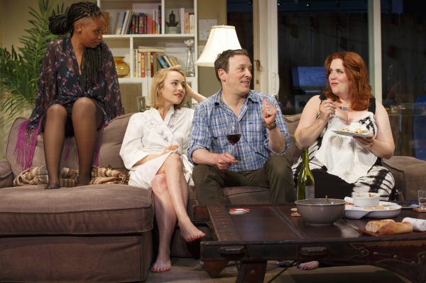 Chinasa Ogbuagu, Sarah Goldberg, Jeremy Shamos and Donna Lynne Champlin