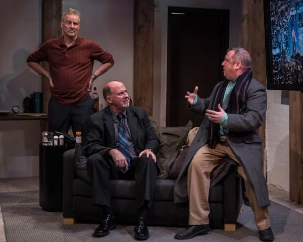 L.J. Ganser, Brian Russell, Rory Scholl
