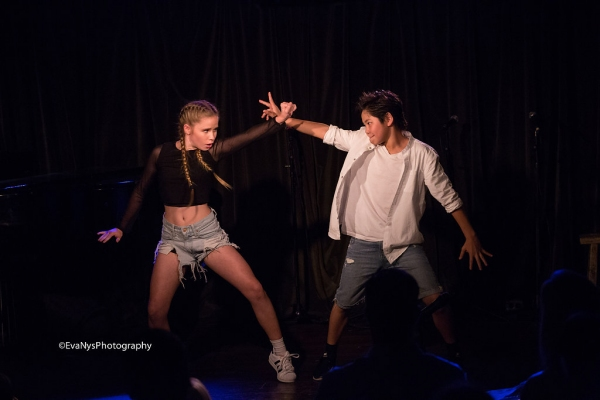 Photo Flash Inside CABARET FOR A CAUSE At Rockwell Table