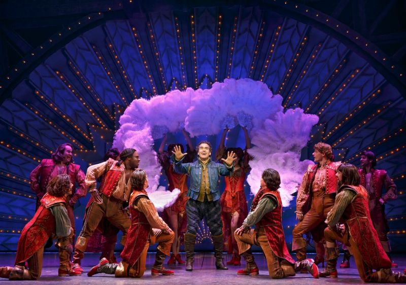 """book report something rotten With 10 tony® nominations including best musical, something rotten is a """" big,  original work not based on a movie, play, book or other source material."""