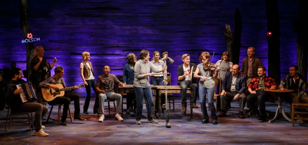The cast of La Jolla Playhouse''s world-premiere musical COME FROM AWAY