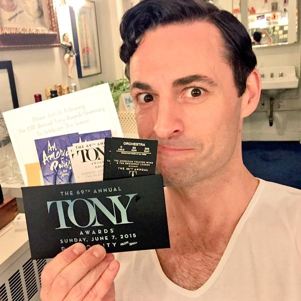 Photo Flash: Saturday Intermission Pics, 6/06- Tony Awards Edition! AN AMERICAN IN PARIS, SOMETHING ROTTEN!, THE KING AND I and More