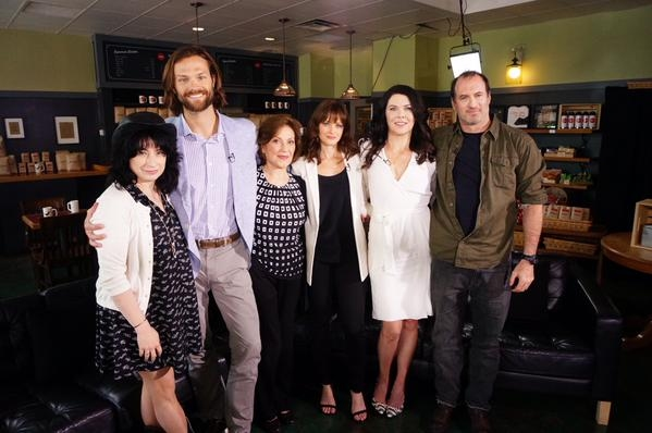 Amy Sherman-Palladino, Jared Padalecki, Kelly Bishop, Alexis Bledel, Lauren Graham, Scott Patterson