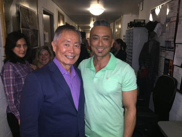 George Takei and Paul Nakauchi