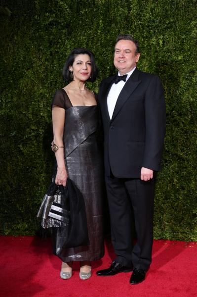 Fotini Dimou and Richard McCabe