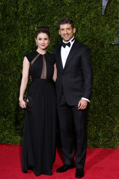 Tony Yazbeck and wife Katie Huff