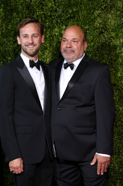 Casey Nicholaw and husband