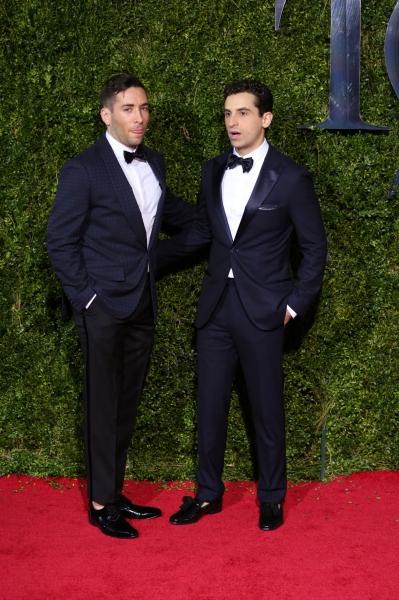 Brandon Uranowitz and boyfriend Zach