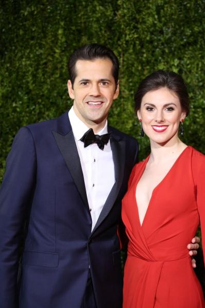 Robert Fairchild and wife Tyler Peck
