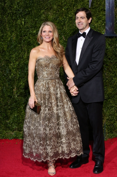 Kelli O'Hara and husband Greg Naughton