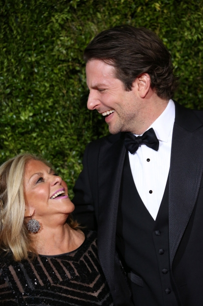 Bradley Cooper and his Mom