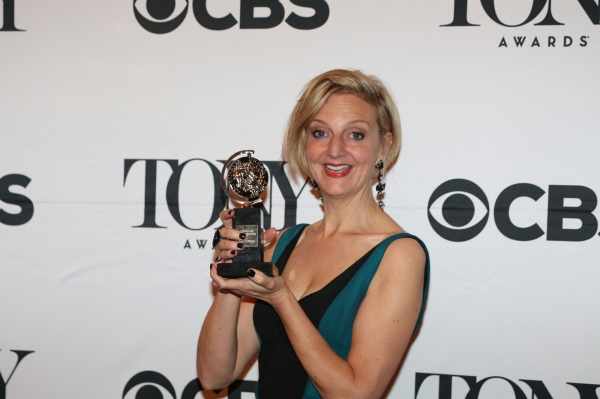 Photo Coverage: Meet the 2015 Tony Award Winners, Part 1 - Kron & Tesori, Borle, Mirren, Mitchell and More!