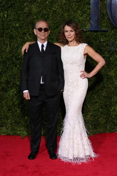 Jennifer Grey with dad Joel Grdy