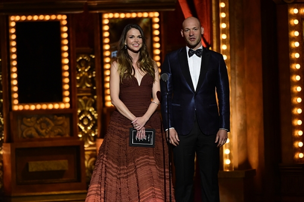 Sutton Foster and Corey Stoll