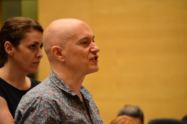 Sara Perez y Fernando Samper. Foto: Maria Aparicio