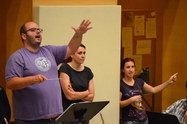 Cesar Belda, Sara Perez y Merce Grane. Foto: Maria Aparicio