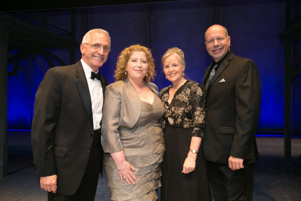Mark S. Hoebee (Producing Artistic Director), Lisa Cooney (Director of Education), Mickey McNany (Theatre School Director) and Todd Schmidt (Managing Director)