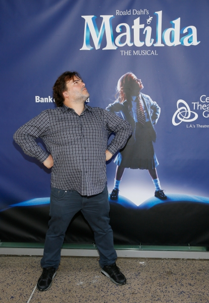 LOS ANGELES, CA - JUNE 7: Actor Jack Black arrives for the opening night performance of ''Matilda The Musical'' at Center Theatre Group/Ahmanson Theatre on June 7, 2015, in Los Angeles, California. (Photo by Ryan Miller/Capture Imaging)