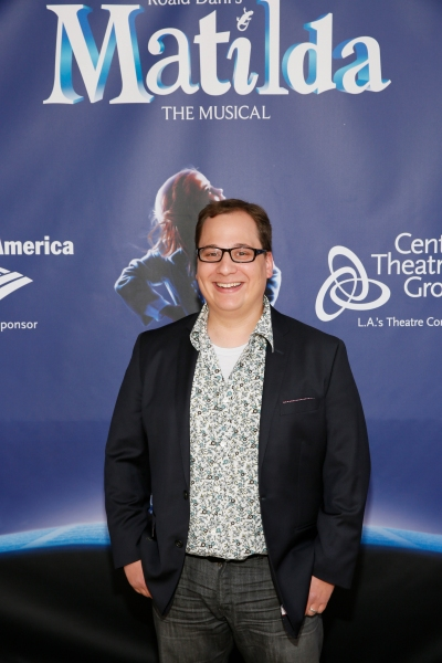 LOS ANGELES, CA - JUNE 7: Actor Jared Gertner arrives for the opening night performance of ''Matilda The Musical'' at Center Theatre Group/Ahmanson Theatre on June 7, 2015, in Los Angeles, California. (Photo by Ryan Miller/Capture Imaging)