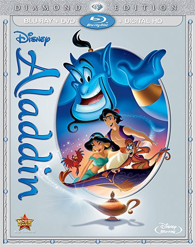 Pre-Order Disney's ALADDIN Diamond Edition Blu-ray & DVD, Set To Be Released Today