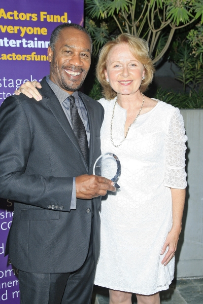 Joe Morton, Kate Burton