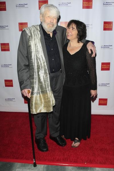 Theodore Bikel, wife Amy