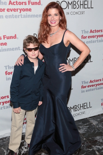 Debra Messing & Son