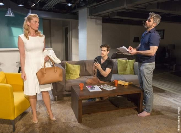 Photo Flash: First Look at David Rhodes' CONSENT Off-Broadway