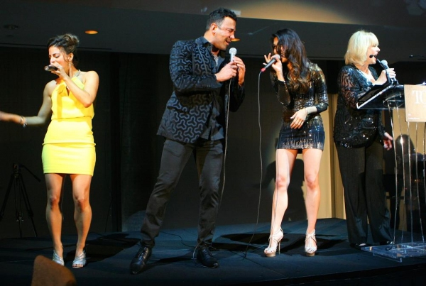 ''The Time Warp'' from THE ROCKY HORROR SHOW, featuring Sebastian La Cause (Orange Is the New Black), Renee Marino (Jersey Boys), Ashley Argota (The Fosters) and Broadway and TV star Ilene Graff