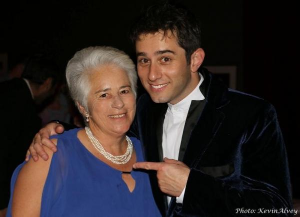 Matt Baker and his mom