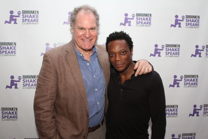Photo Flash: Chukwudi Iwuji, Condola Rashad and More Read IRA at Shrunken Shakespeare's 2015 Benefit Gala